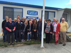 ANZSOM meeting photo at Tassal 09-04-16